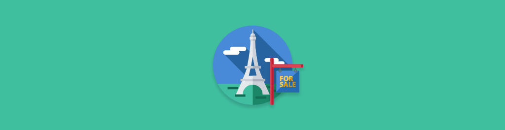 Eiffel Tower for sale
