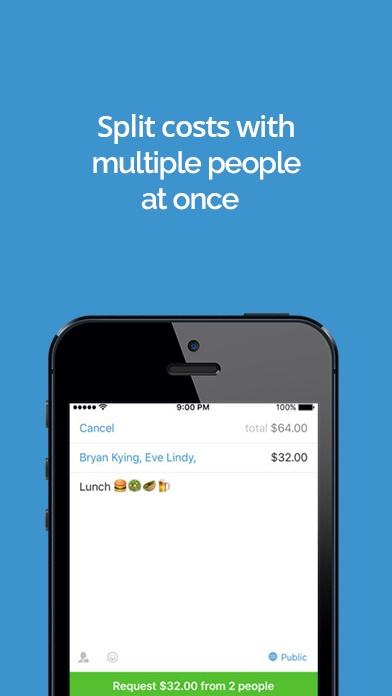 Venmo app screenshot image 1