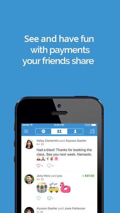 Venmo app screenshot image 2