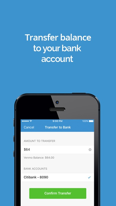 Venmo app screenshot image 3
