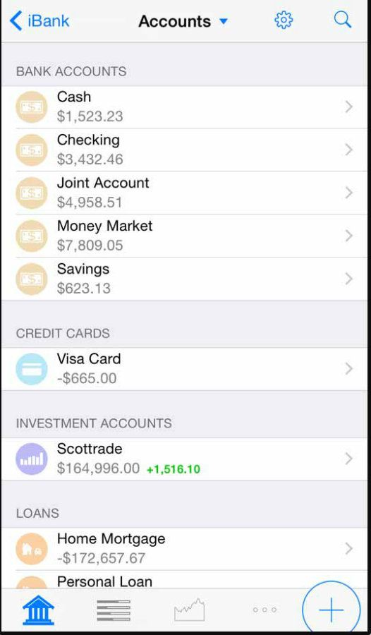 Banktivity app screenshot image 1