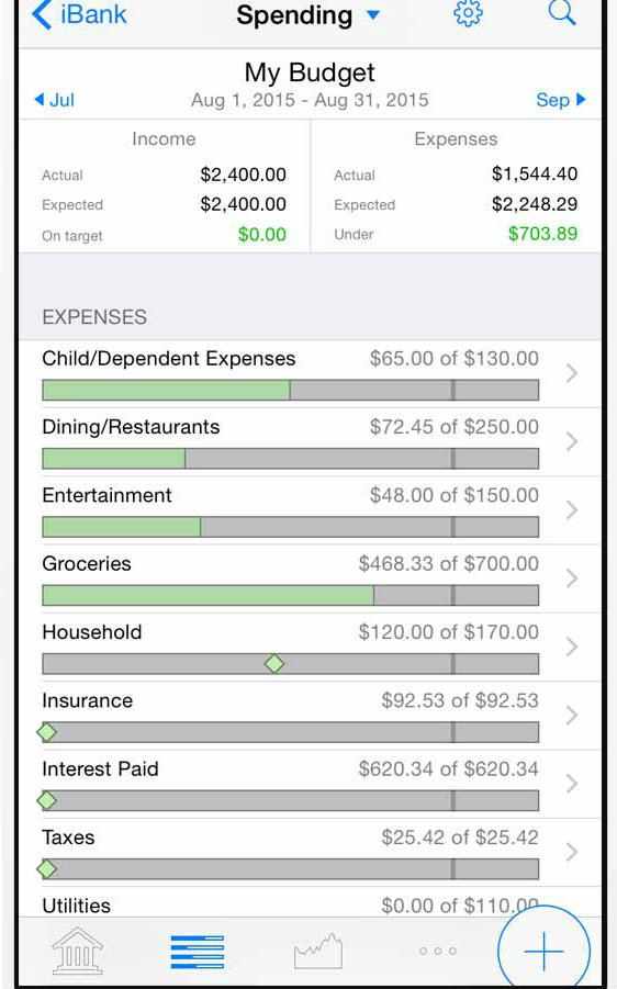 Banktivity app screenshot image 2