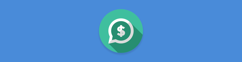 money speech bubble