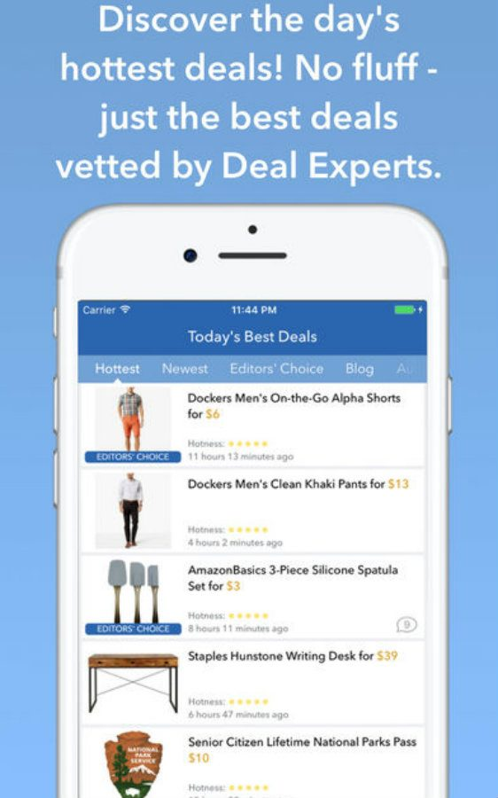 DealNews app screenshot image 1