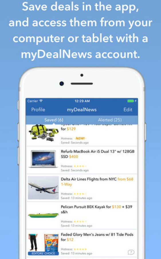 DealNews app screenshot image 4
