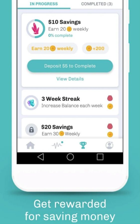 Long Game Savings app screenshot image 3