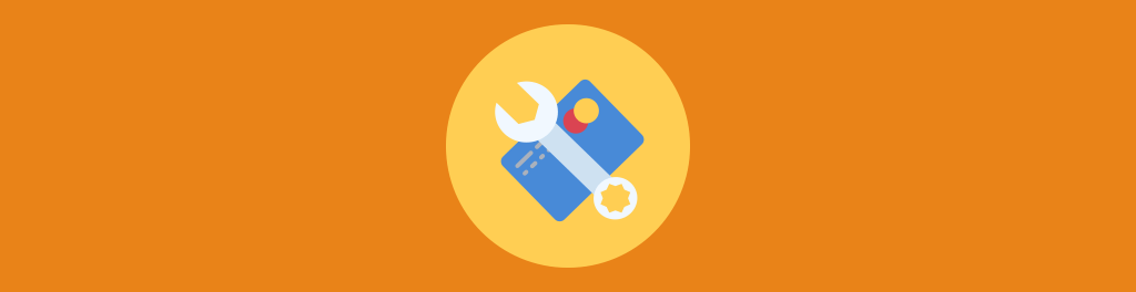 wrench over a credit card