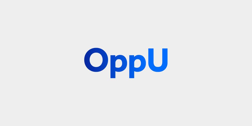 OppU banner logo