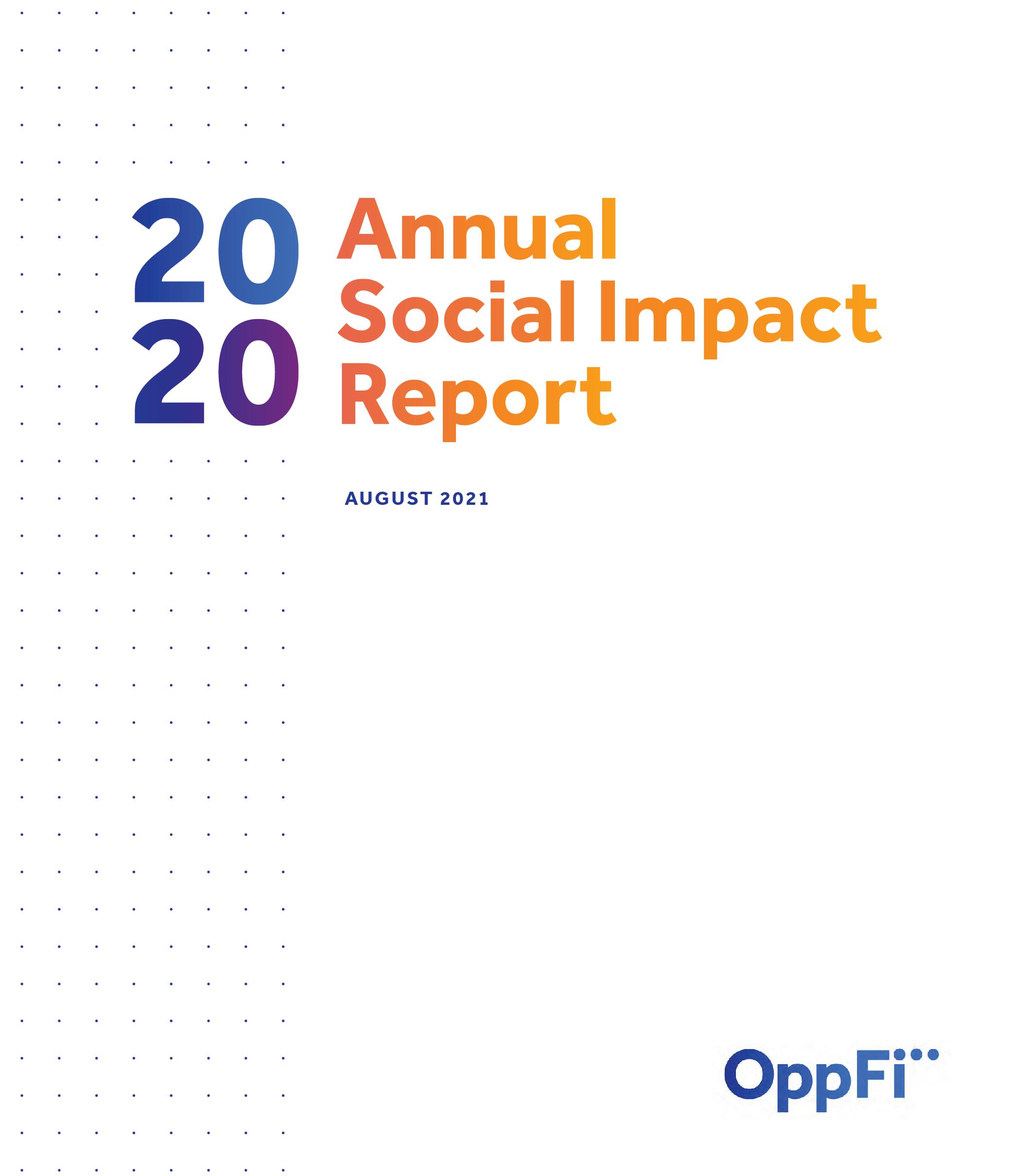 Social Impact Report cover